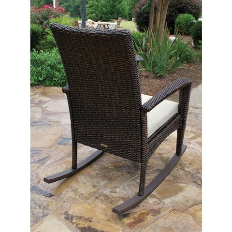Image of Bayview Rocking Chair By Tortuga Outdoor Great Room - Driftwood