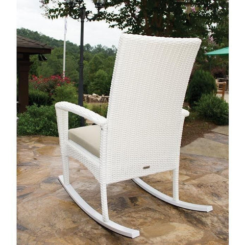 Bayview Rocking Chair By Tortuga Outdoor Great Room - Magnolia