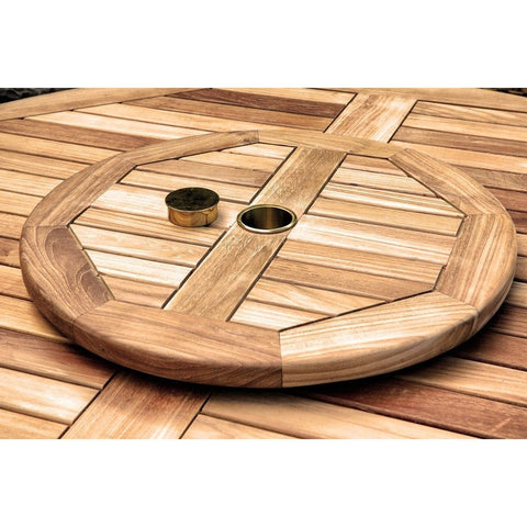 "Lazy Susan - Jakarta 20"" By Tortuga Outdoor Great Room"