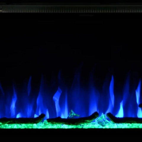 "Image of Sideline Elite 42"" Recessed Electric Fireplace"