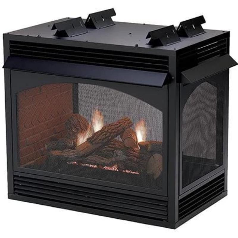 Empire Vail Peninsula Vent-Free Fireplaces