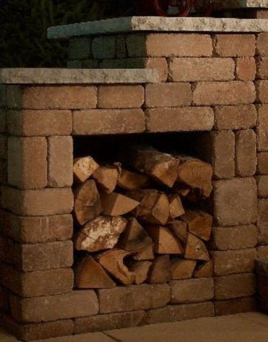 Image of Victorian Fireplace Woodbox