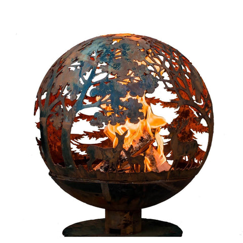 "Image of Esschert Design Wildlife Fire Globe 24"" Diameter"