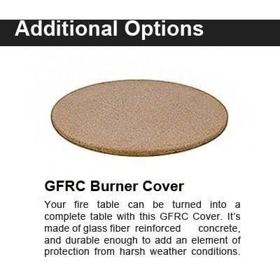 Image of Fire Table Protective Burner Covers By American Fyre Design