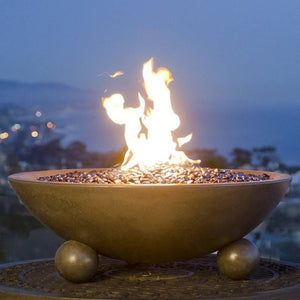 "American Fyre Designs Versailles 24"" & 32"" Fire Bowl With Ball Feet"