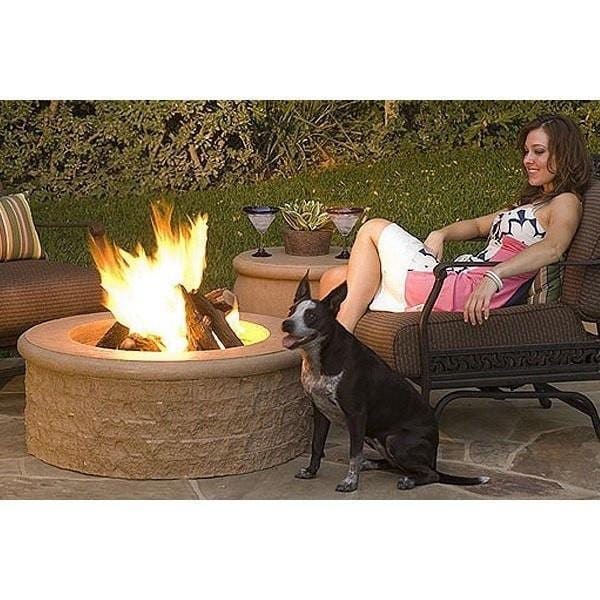 Chiseled Fire Pit By American Fyre Designs Outdoor Fire Pit