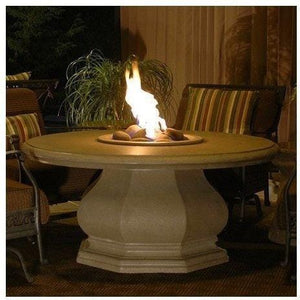 Fire Table: Octagon Table By American Fyre Design Outdoor Dining