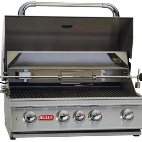 "Bull Angus 4-Burner 30"" Stainless Steel BBQ Grill - 47628"