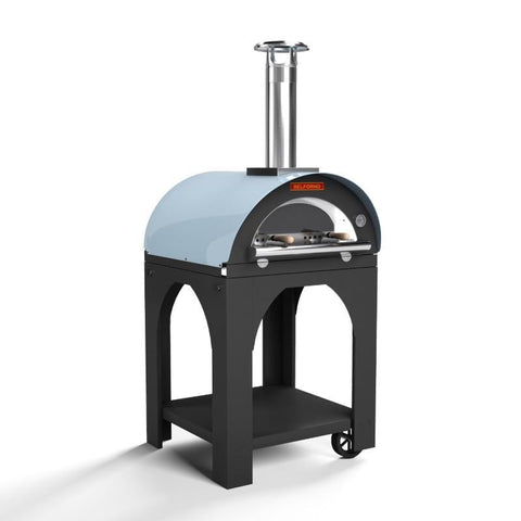 Blue Outdoor Pizza Oven For Sale