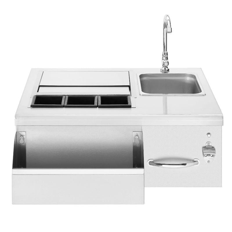 "Summerset 30"" Beverage & Prep Station w/ LED Illumination"