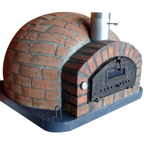 Image of Rustic Brick Wood Fired Pizza Oven