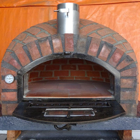Rustic Brick Wood Fired Pizza Oven