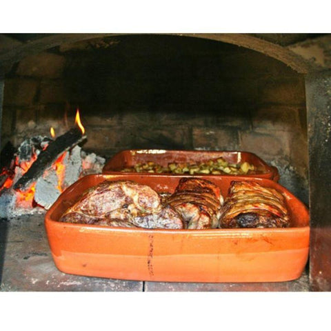 Image of Brick Wood Fired Oven Cooking