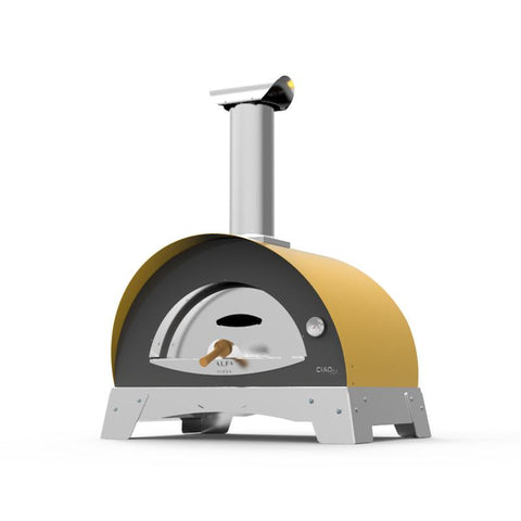 Image of Alfa Ciao Stainless Steel Wood Fire Oven