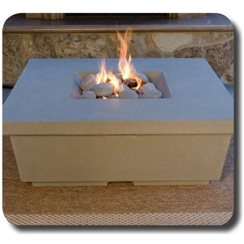Fire Table: Contempo Square By American Fyre Design Outdoor Heating