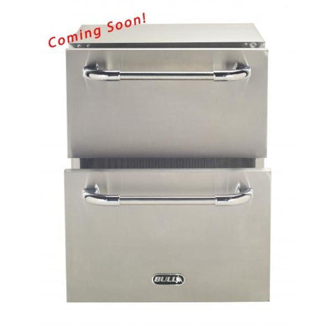 Bull Premium Double Drawer Outdoor Rated Refrigerator
