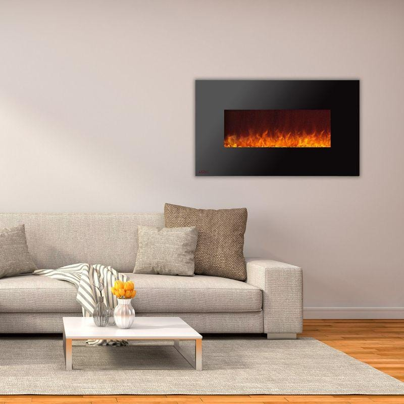 Ignis Royal Black Electric Fireplace 50-inch