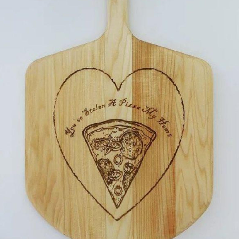 Pizza Lover Basswood Pizza Peel