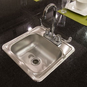 Image of Necessories Kitchen Island Cabinet Sink