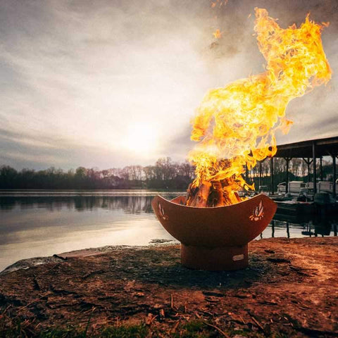 Image of Best wood burning fire pit bowls - Namaste