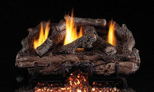 G10 Vent-Free Charred Aged Split Oak Standard Log Set