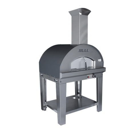Gas Pizza Oven on a Cart - Bull 77652