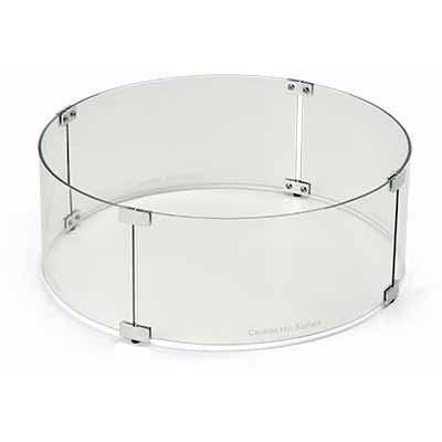 Image of Glass Wind Guards - Fire Pit Accessories - American Fyre Designs