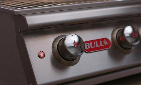 "Image of Bull Brahma 5-Burner 38"" Stainless Steel BBQ Grill - 57568"
