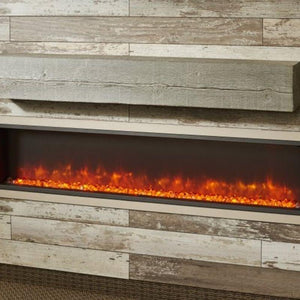 Non-Combustible Washed Cedar Supercast Wood Mantel