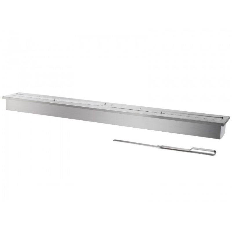 Ignis EB6200 Ethanol Fireplace Burner Insert - STAINLESS STEEL