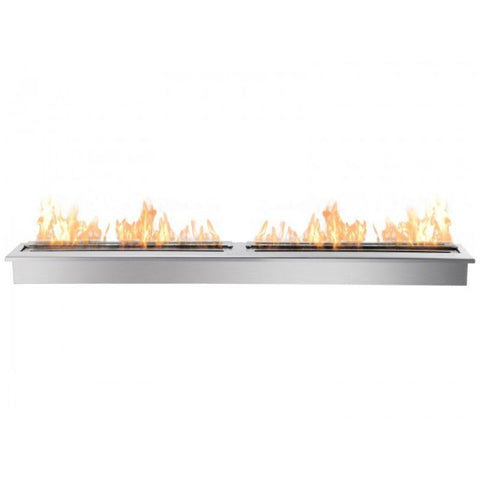 Image of Ignis EB6200 Ethanol Fireplace Burner Insert - STAINLESS STEEL
