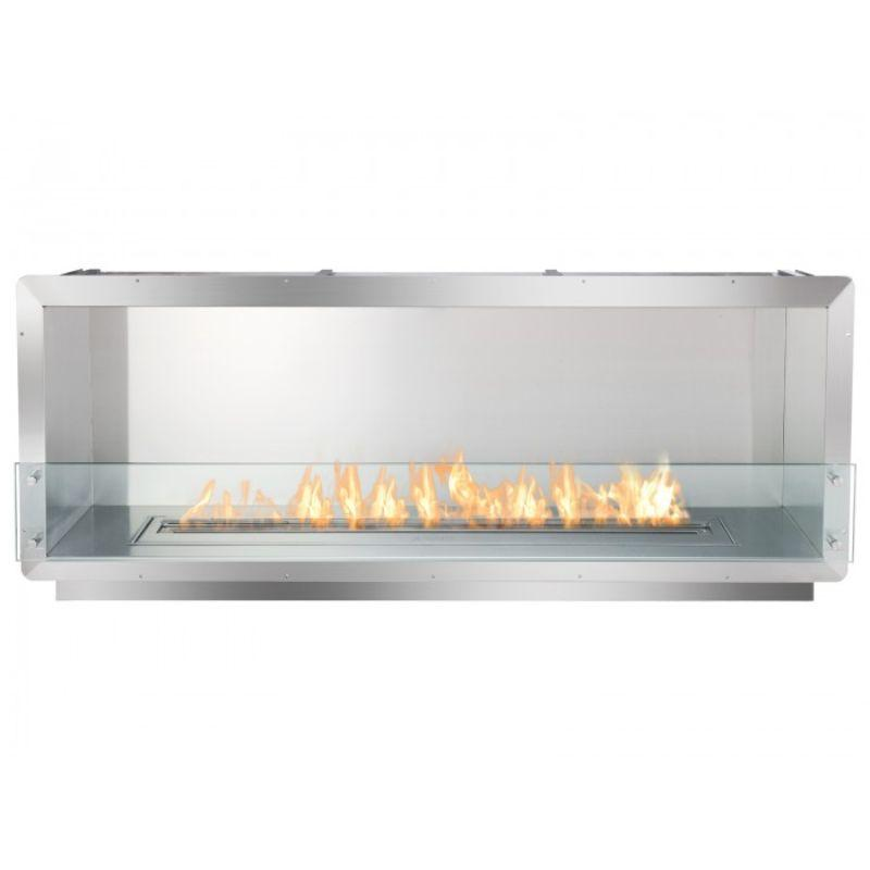 Ignis Fireplace Insert FB4800-S Firebox STAINLESS STEEL