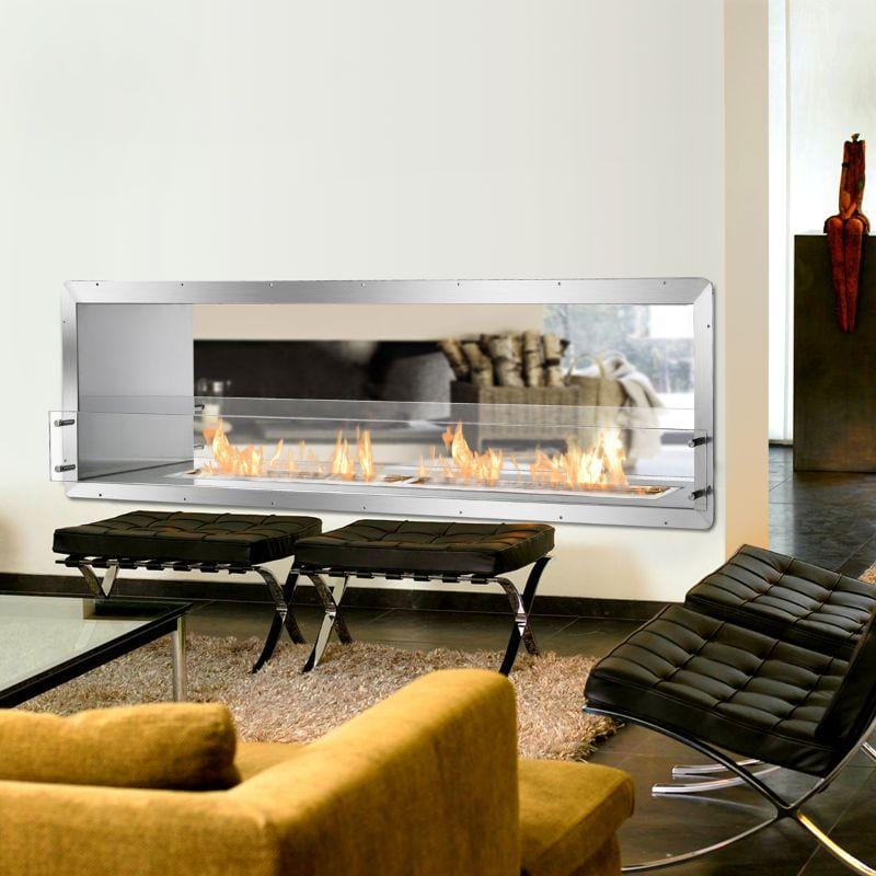 Ignis Fireplace Insert FB6200-D Firebox STAINLESS STEEL