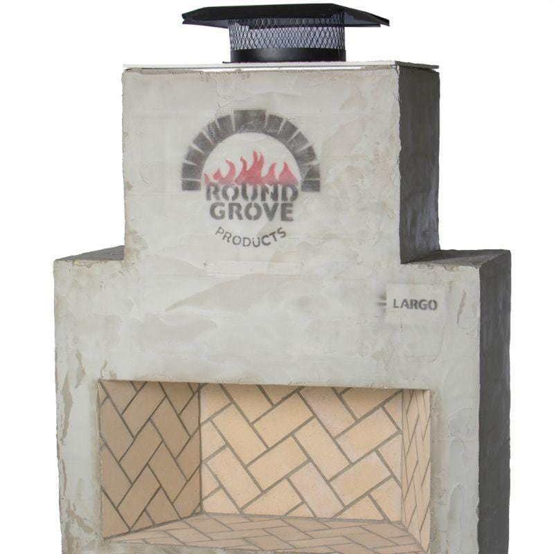 Round Grove Largo Outdoor Fireplace FP1800