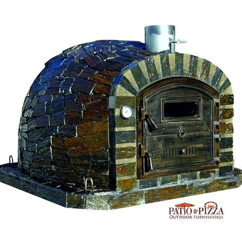 Lisboa brick pizza oven by Authentic Pizza Ovens