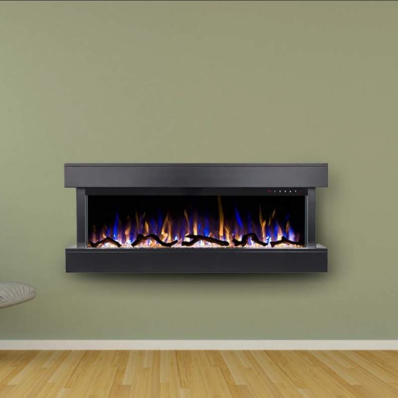 "Chesmont 50"" 80033 50"" Wall Mount Electric Fireplace"