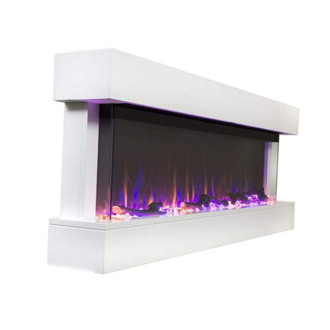 "Image of Chesmont 50"" 80033 50"" Wall Mount Electric Fireplace"
