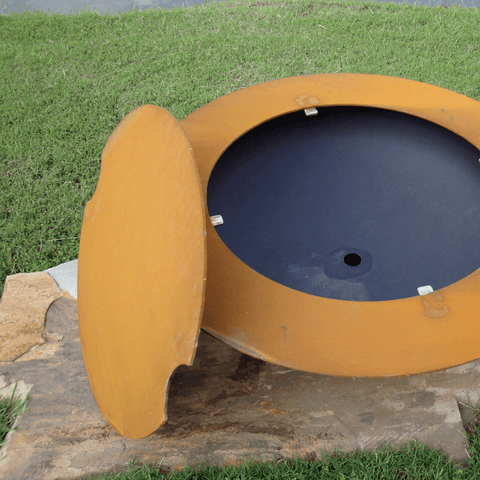 Image of Fire Pit Art- Magnum w/ Lid