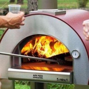 Image of ALFA 5 Minuti Outdoor Wood Fired Oven