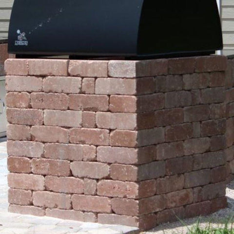 Block pizza oven base