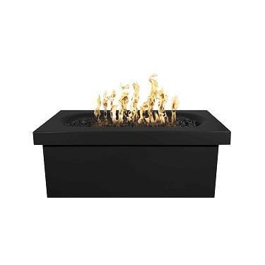 Image of Ramona – 60″ Rectangular Fire Pit Table Black