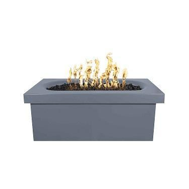 Ramona – 60″ Rectangular Fire Pit Table Gray