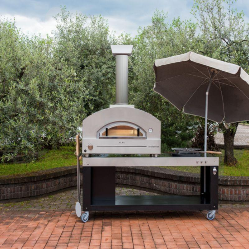 Alfa Outdoor Pizza Oven Table