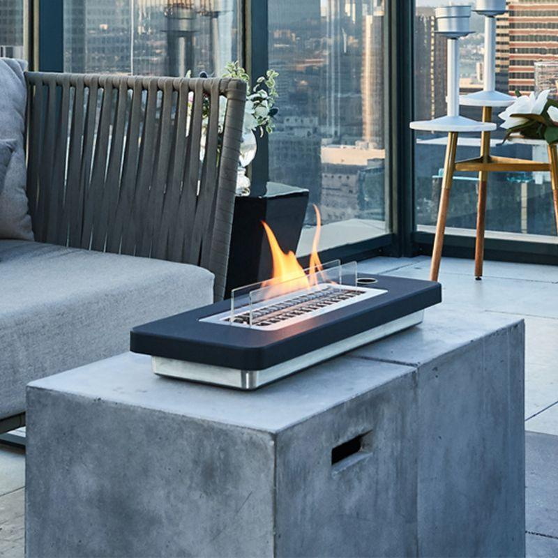 Lovin' Flame Tabletop Fire Pit - Black