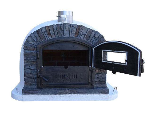 Brick Pizza Oven | Ventura Black Authentic Pizza Oven