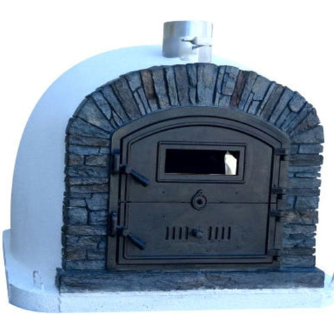 Image of Brick Pizza Oven | Ventura Black Authentic Pizza Oven