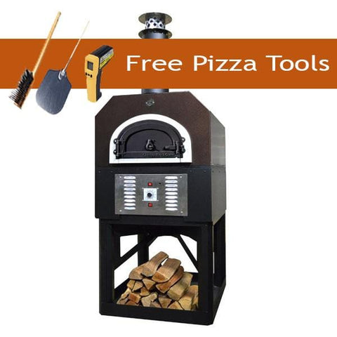 Image of Chicago Brick Oven 750 Gas and Wood Oven w/Stand