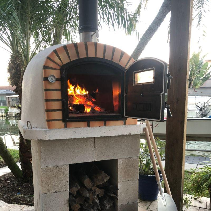 Lisboa Premium Brick Wood Fired Pizza Oven From Portugal