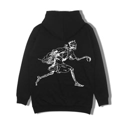 2017 'Running Far From You' – Oversized Hoodie - Black