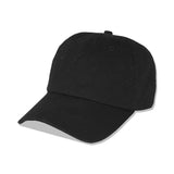'Low-key' Dad Cap - Black - The BW Collection - 1